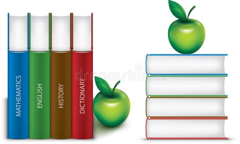 Schulbücher lizenzfreie stockbilder