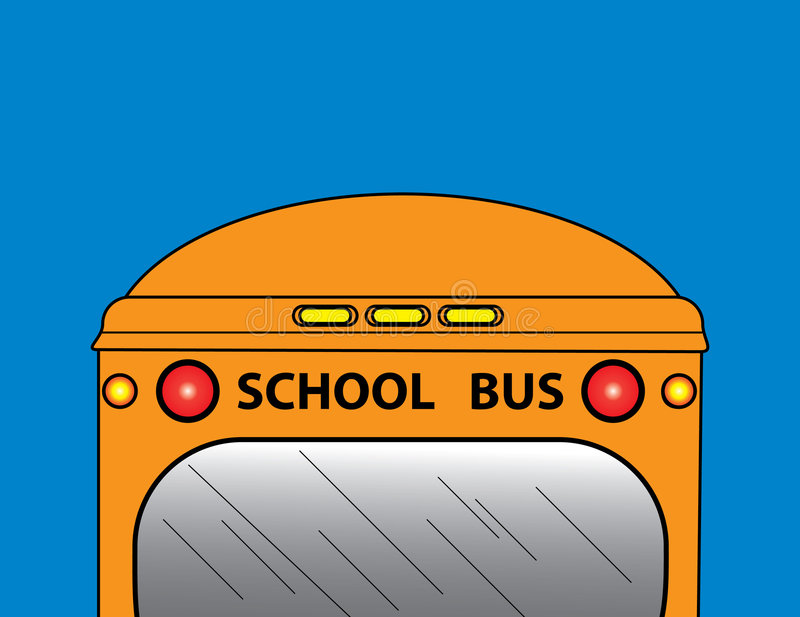 Download Schulbus vektor abbildung. Illustration von fahrzeug, leuchten - 9076970