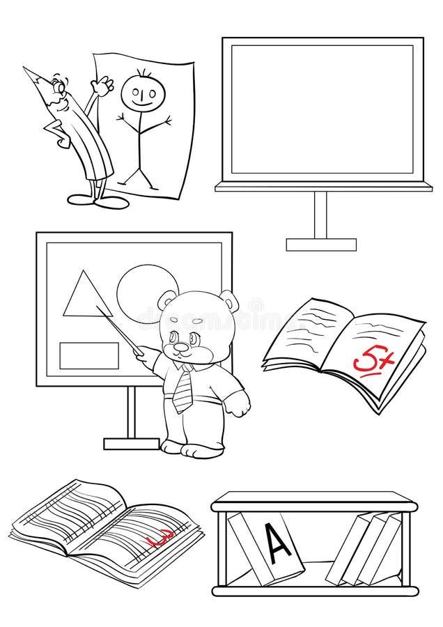 Schule vektor abbildung
