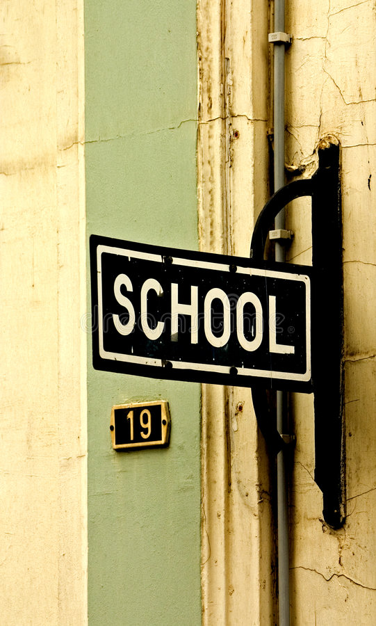 Schule stockfotos