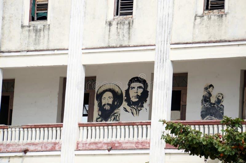 Schule in Cienfuegos lizenzfreie stockfotos