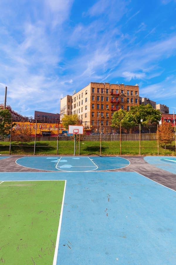 Schule im Bronx, New York City lizenzfreie stockbilder