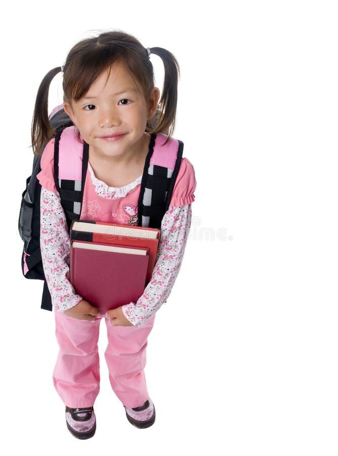 Schule-Mädchen stockbild