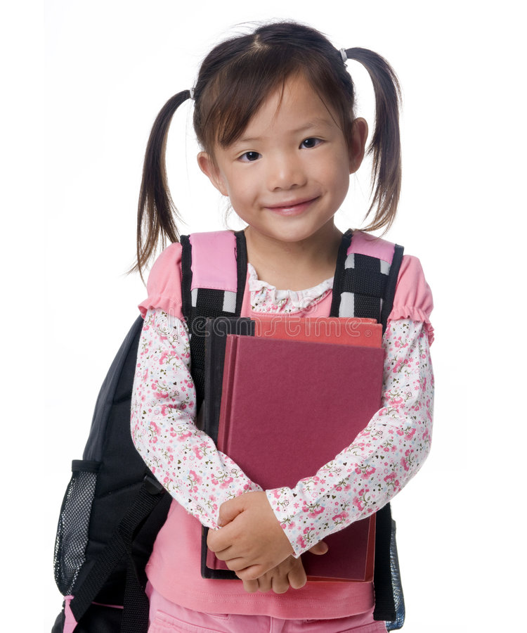 Schule-Mädchen lizenzfreie stockfotos