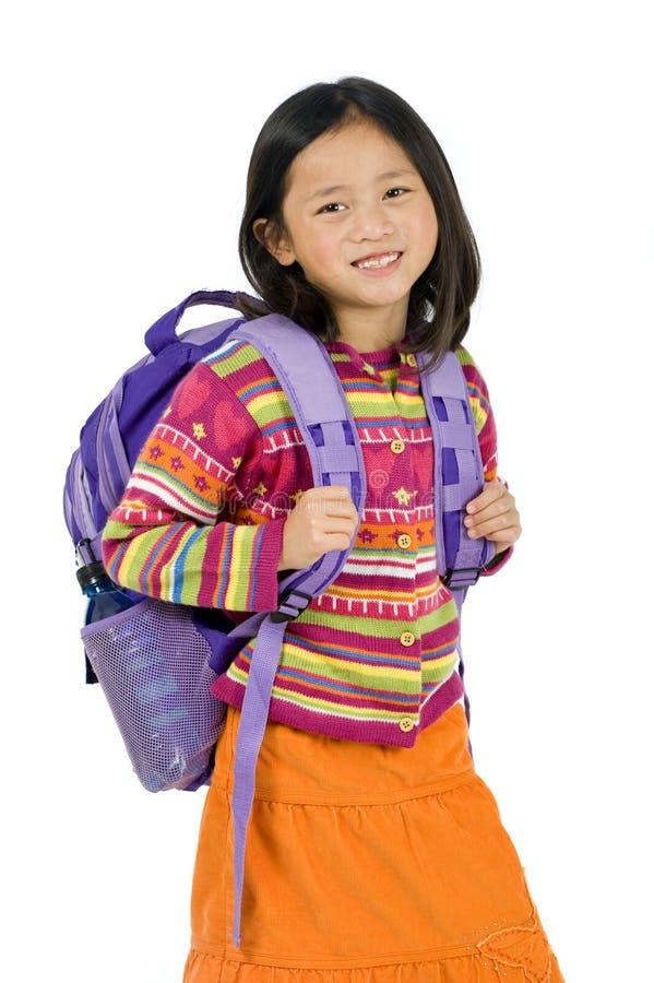 Schule-Mädchen stockfoto