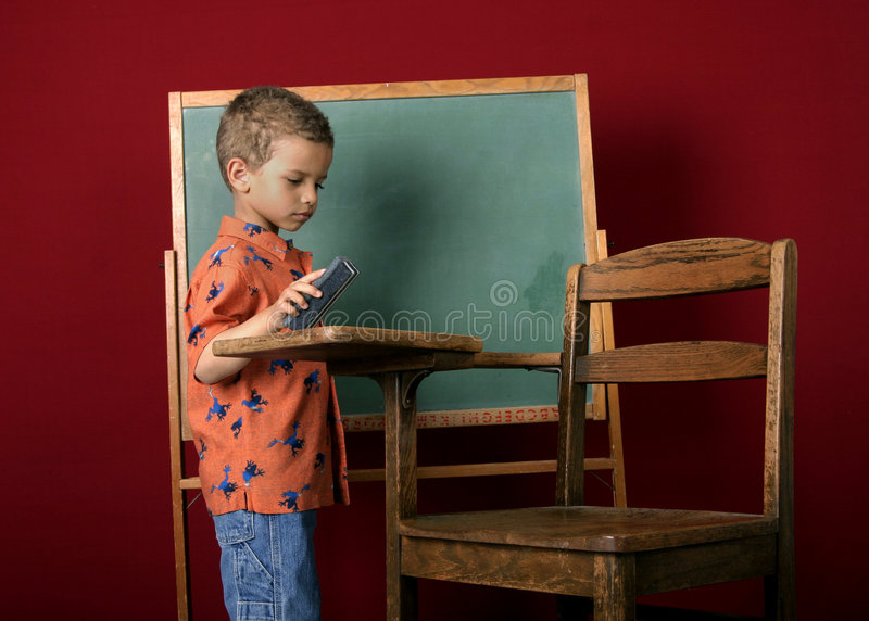Schulearbeit lizenzfreies stockfoto