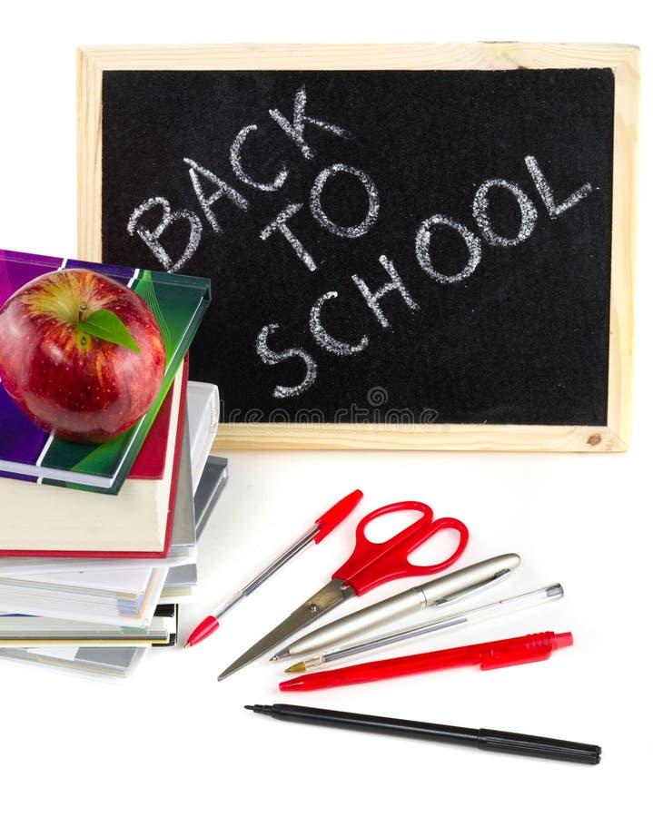 Schuleausrüstung Betriebsbereit Lizenzfreie Stockfotos