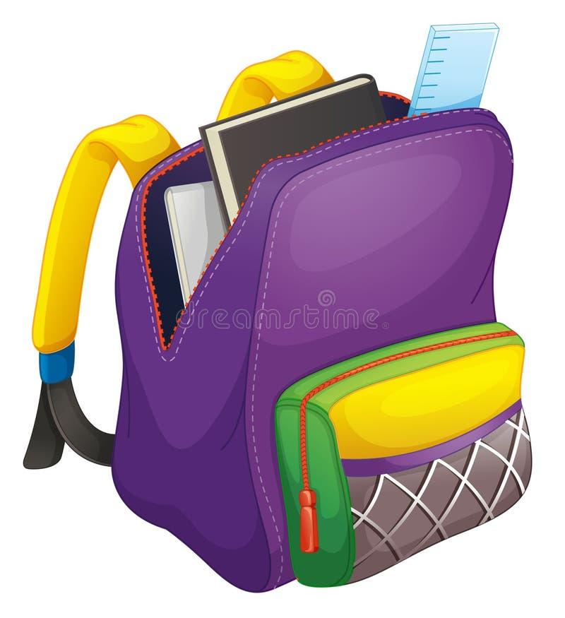 Schulebeutel stock abbildung