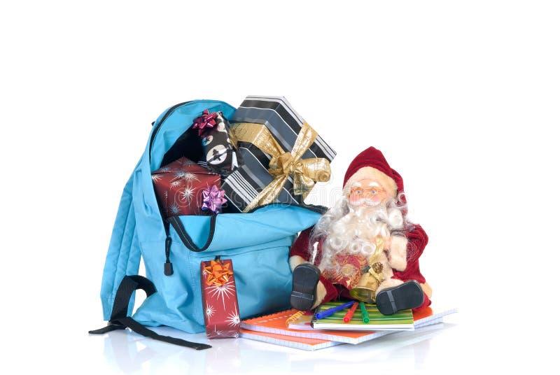 Schuleferien, Weihnachtsbruch stockfoto