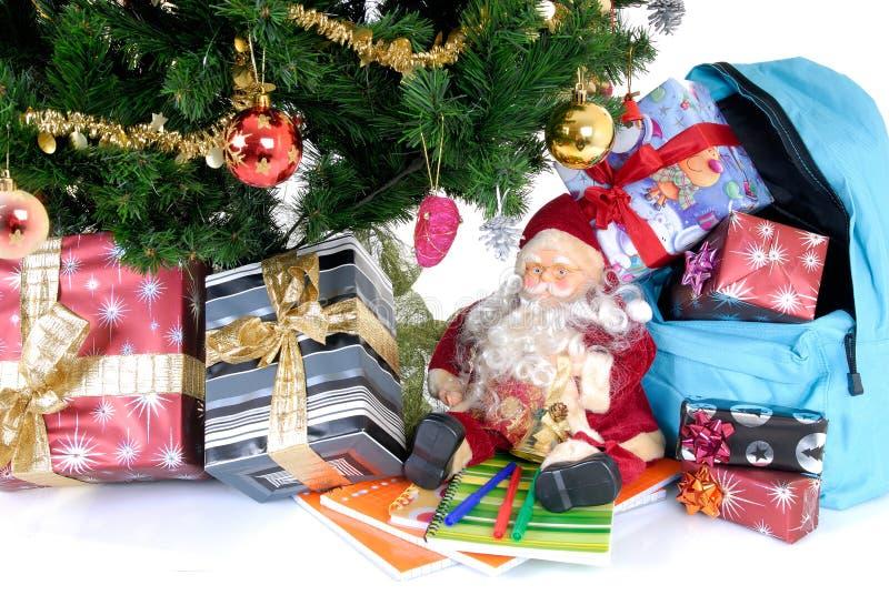 Schuleferien, Weihnachtsbruch stockfotos