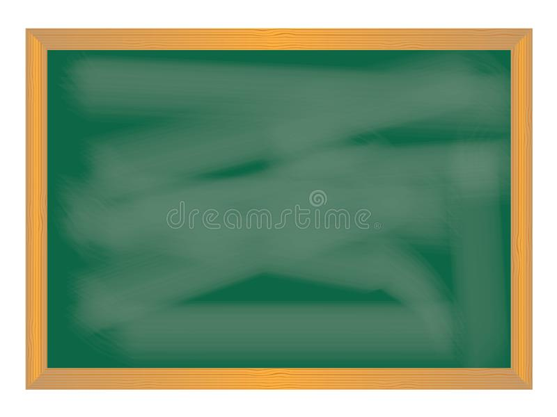 Schuleikonen auf Tafel stock abbildung
