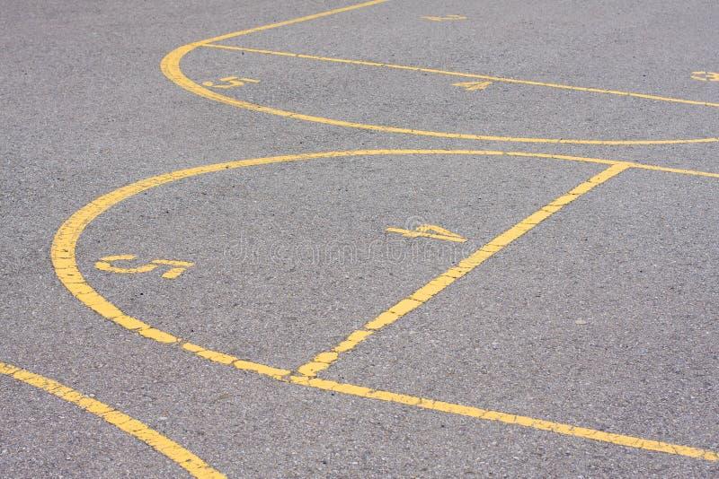 Schulespielplatz lizenzfreie stockfotografie