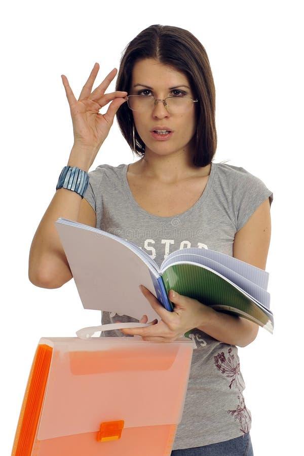 Schullehrer stockfoto