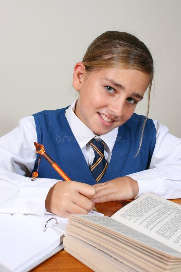 Schulmädchen lizenzfreie stockfotos