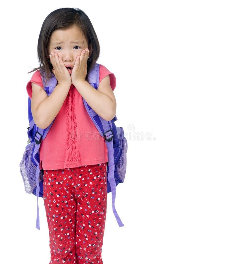 Schulmädchen lizenzfreies stockbild