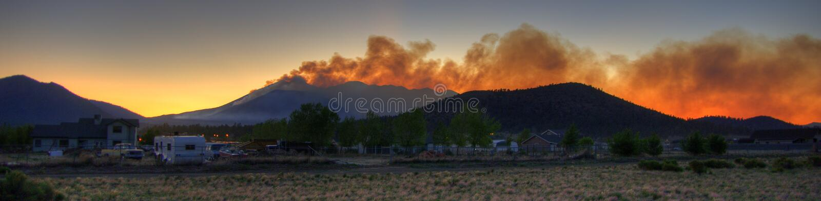 Schultz Fire royalty free stock image
