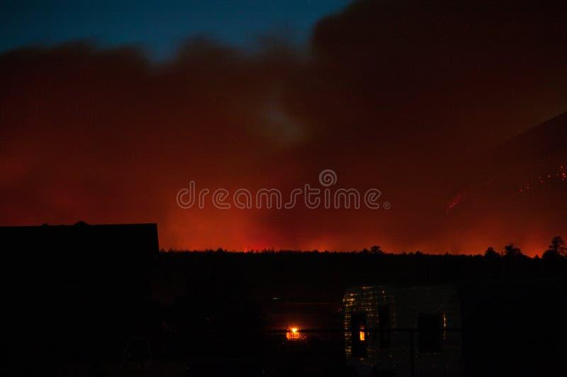 Schultz Fire stock image