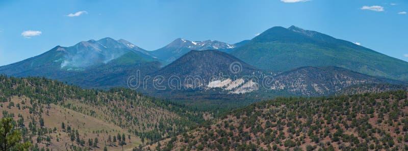 Schultz Fire: Robinson Crater Panorama Free Public Domain Cc0 Image