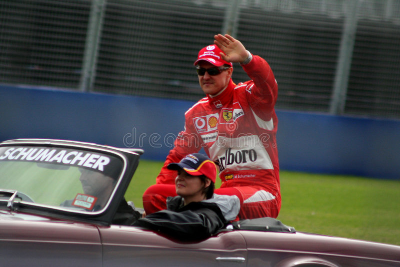 Schumacher stock image