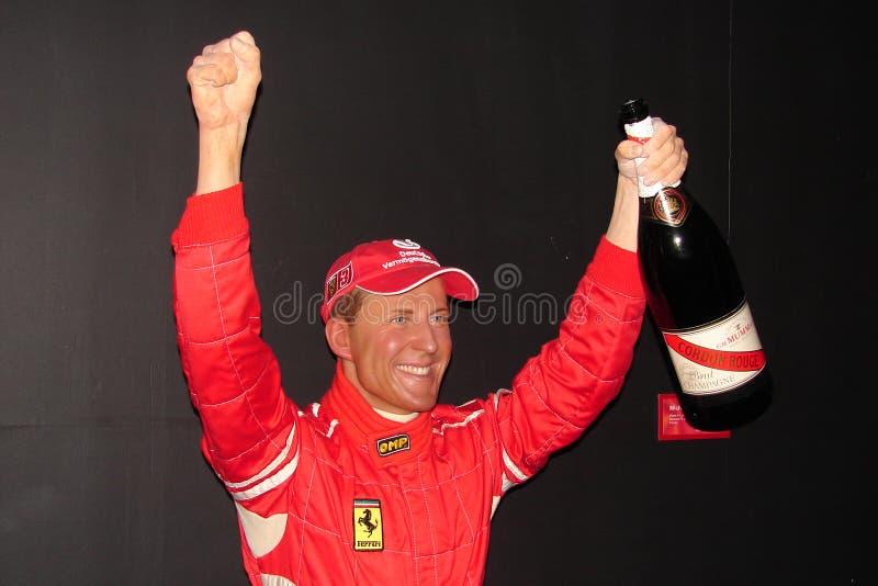 Schumacher de Michael no Musée Grevin foto de stock royalty free