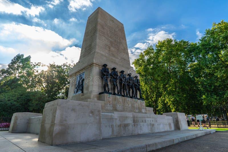 Schutz Erinnerungs in London, Großbritannien lizenzfreie stockbilder