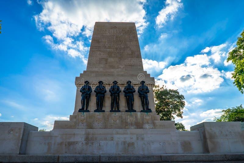 Schutz Erinnerungs in London, Großbritannien stockfotografie