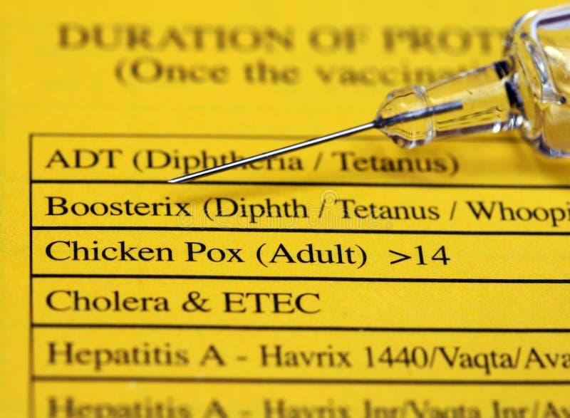 Schutzimpfung lizenzfreies stockfoto