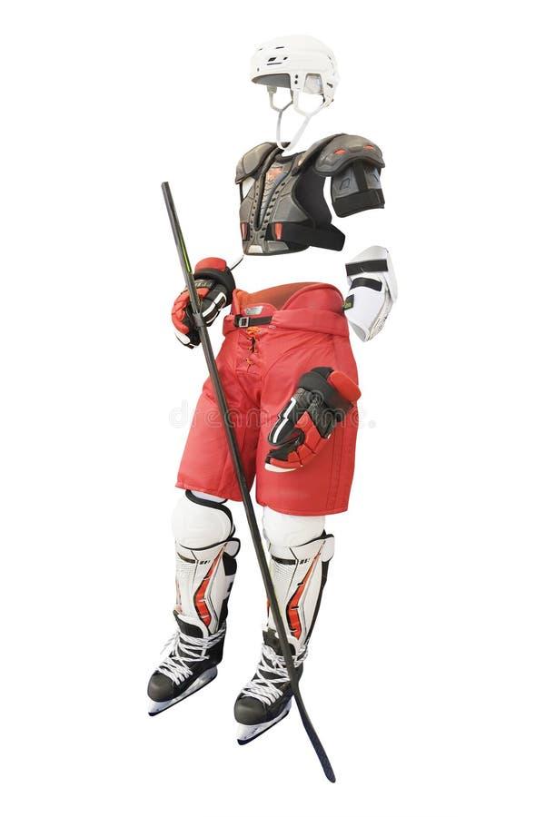 Schutzkleidungshockey lizenzfreie stockbilder