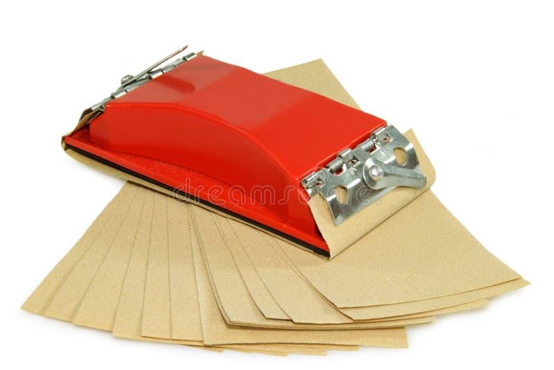 Schuurpapier royalty-vrije stock afbeeldingen