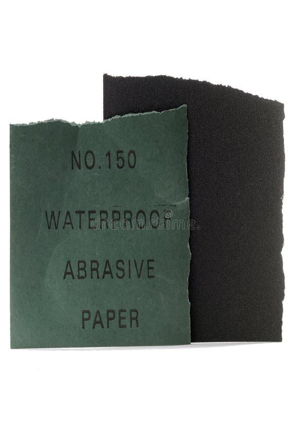 Schuurpapier stock afbeelding