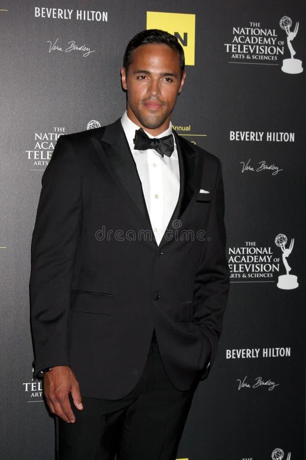 Schuyler Yancy Arrives At The 2012 Daytime Emmy Awards Editorial Photo