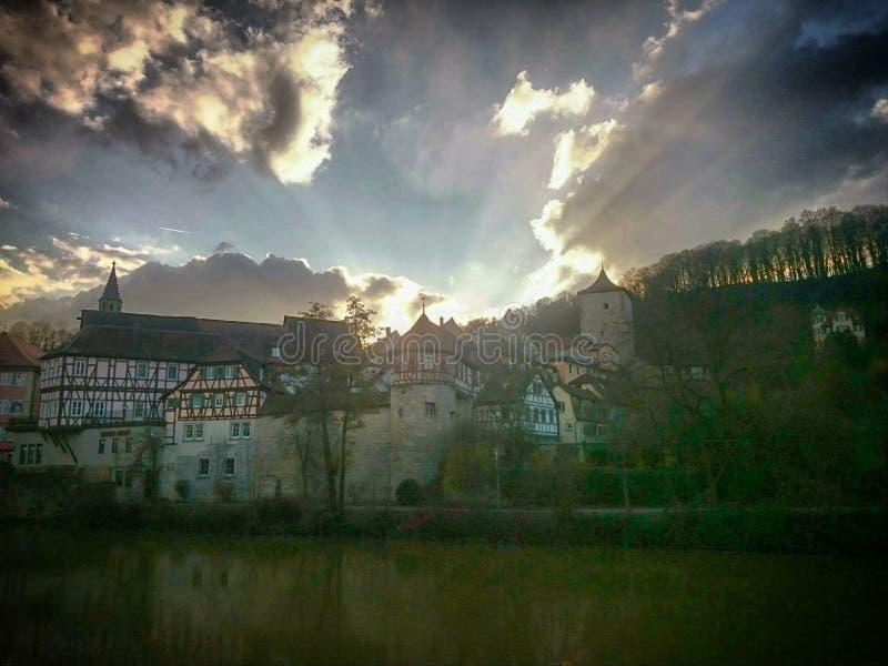 Schwäbisch Corridoio fotografia stock libera da diritti