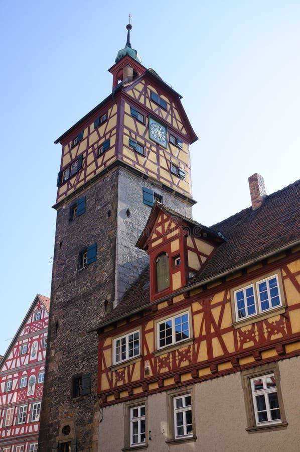 Schwäbisch Hall, Allemagne images libres de droits