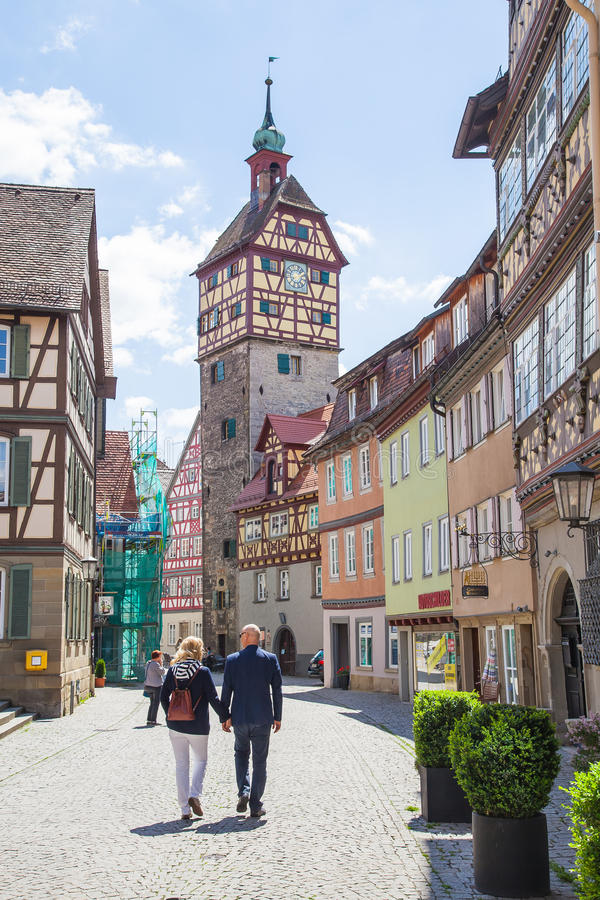 Schwäbisch Hall, Allemagne image stock