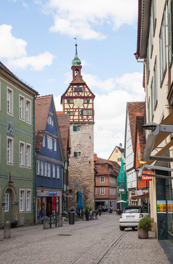 Schwäbisch Hall, Allemagne photo libre de droits