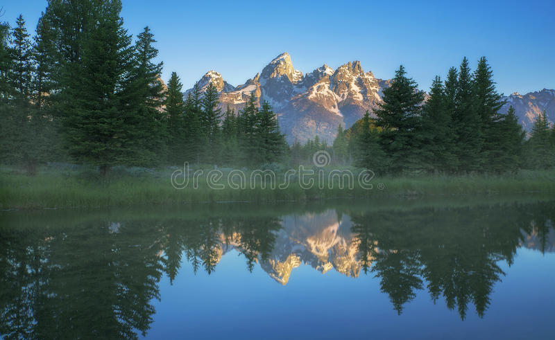 Schwabacher's Landing royalty free stock photo
