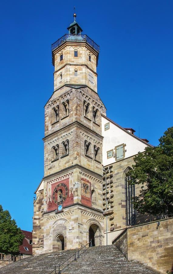 Schwabisch Hall, Allemagne images stock