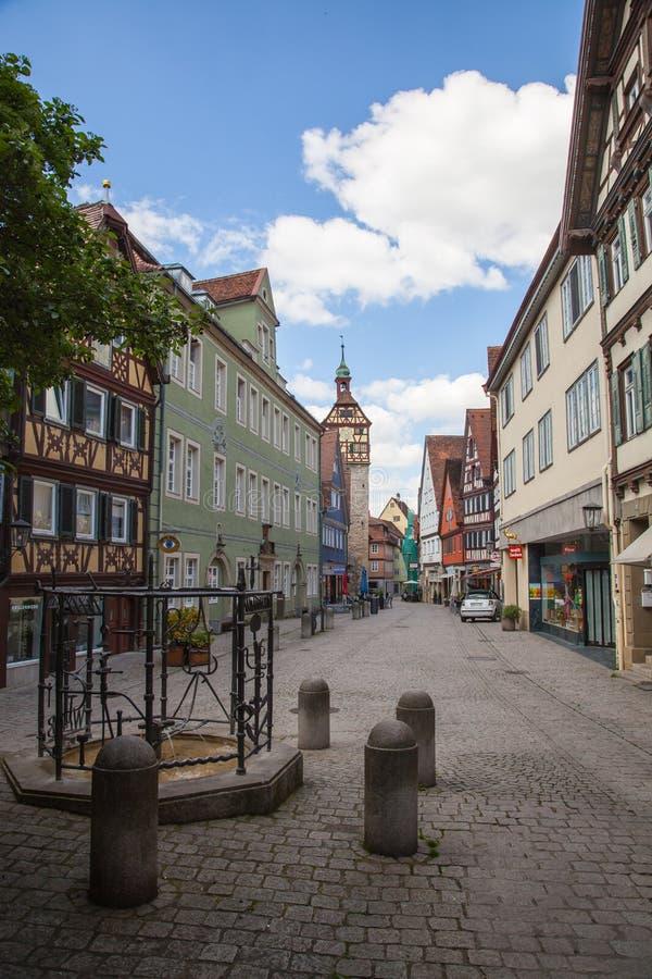 Schwabisch Hall, Germany stock photo