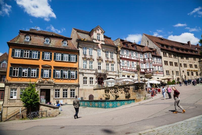 Schwaebisch Pasillo, Alemania fotos de archivo libres de regalías