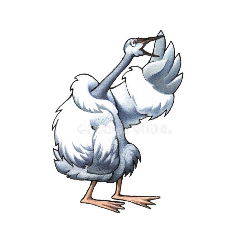 Schwan stock abbildung