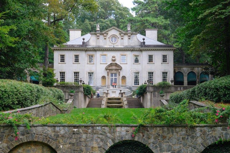 Schwan-Haus in Atlanta lizenzfreies stockfoto