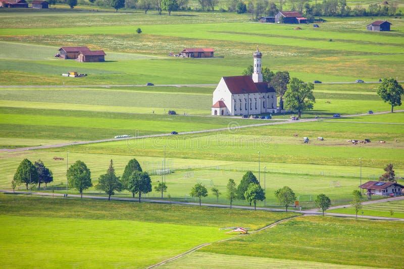 Schwangau-Landschaft stockbilder