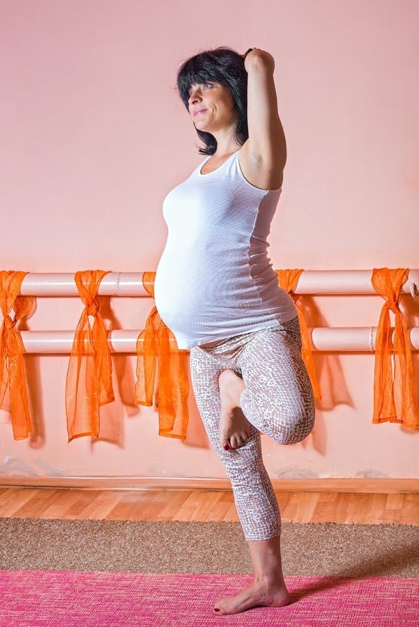 schwanger lizenzfreie stockfotografie