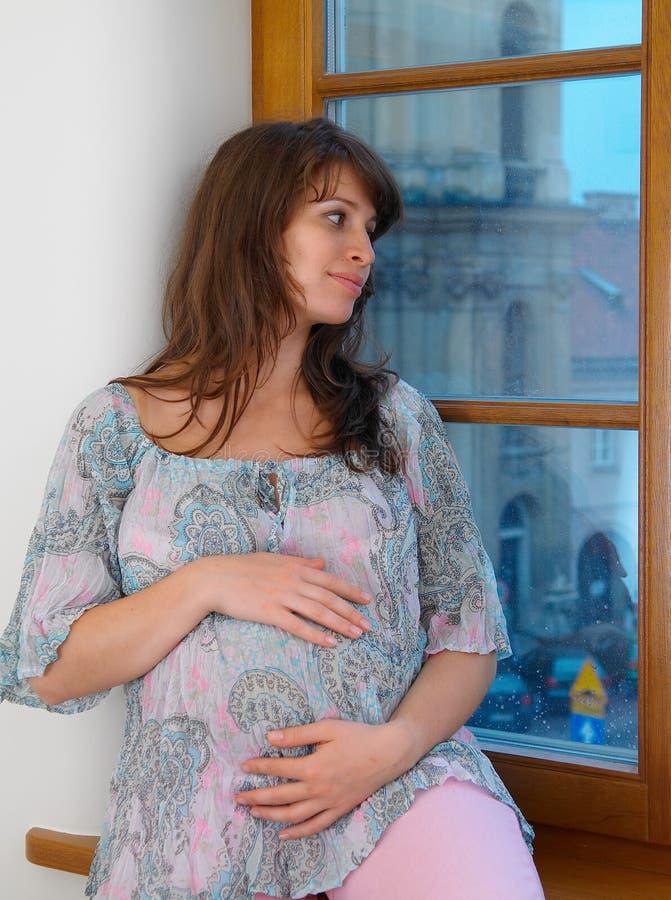 Schwangerschaft lizenzfreies stockbild