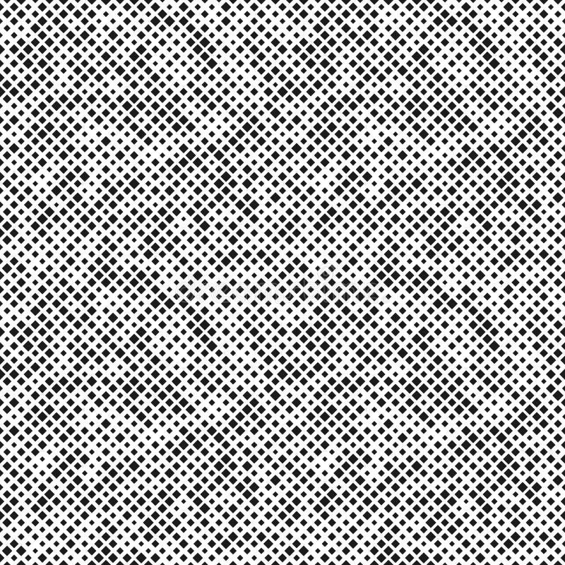 Schwarze Farbnahtloses Muster mit Rauten, geometrischer Vektorhintergrund des abstrakten Designs Einfaches modernes stilvolles vektor abbildung