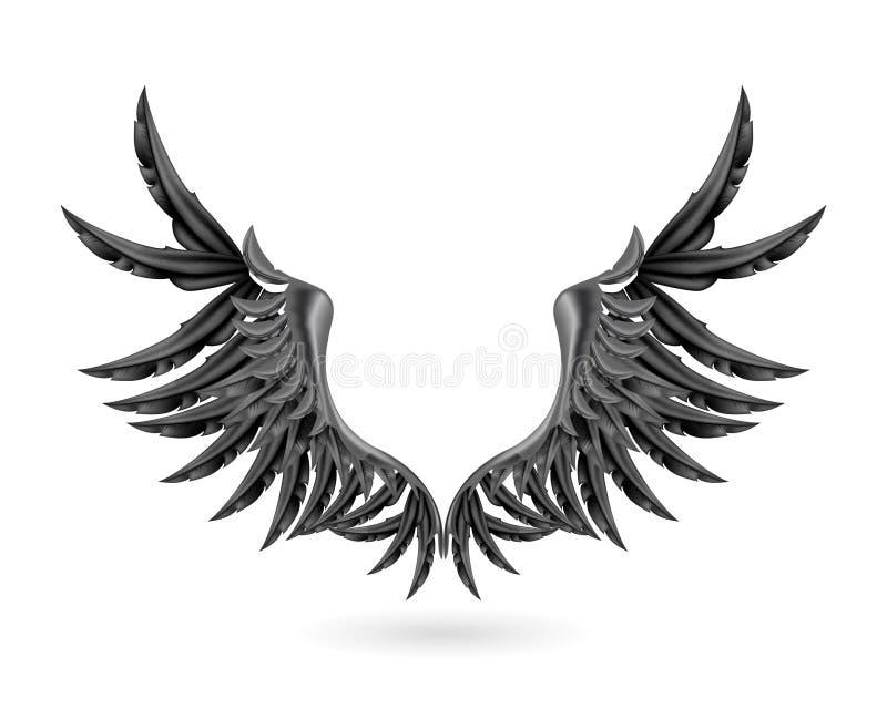 Schwarze Flügel