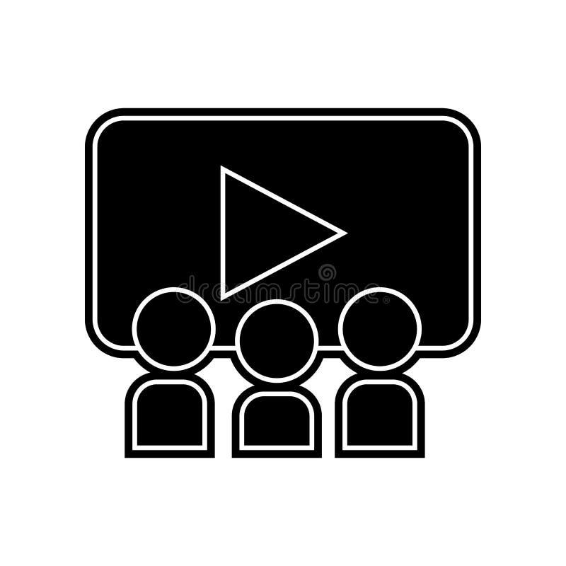 Schwarze flache Ikone Element der Bildung f?r bewegliches Konzept und Netz apps Ikone Glyph, flache Ikone f?r Websiteentwurf und  vektor abbildung
