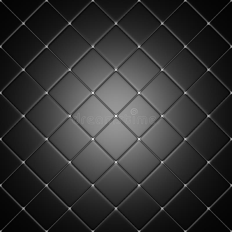 Download Schwarze Fliesen Mit Leuchtendem Halo Stock Abbildung - Illustration von badezimmer, leuchte: 26351495