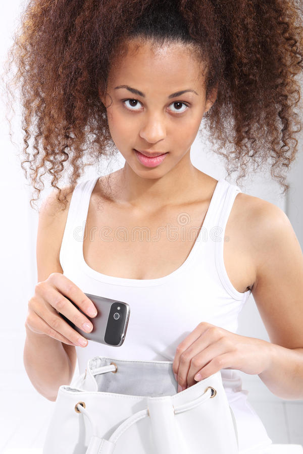Schwarze Frau stockbilder