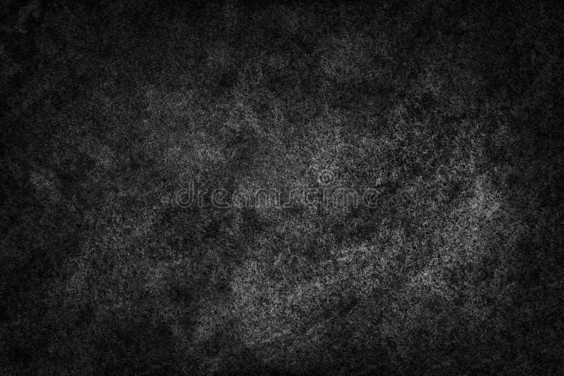 Schwarze gescannter Hintergrund der Aquarellfarben-Zusammenfassung Beschaffenheit stock abbildung